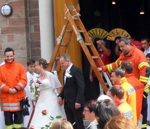 Hochzeit Mariella und Werner 30.08.2014 Michaelskirche Bühlertal