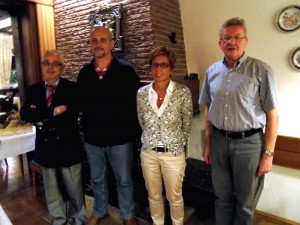 neue Vorstandsmitglieder und Kassenprüfer