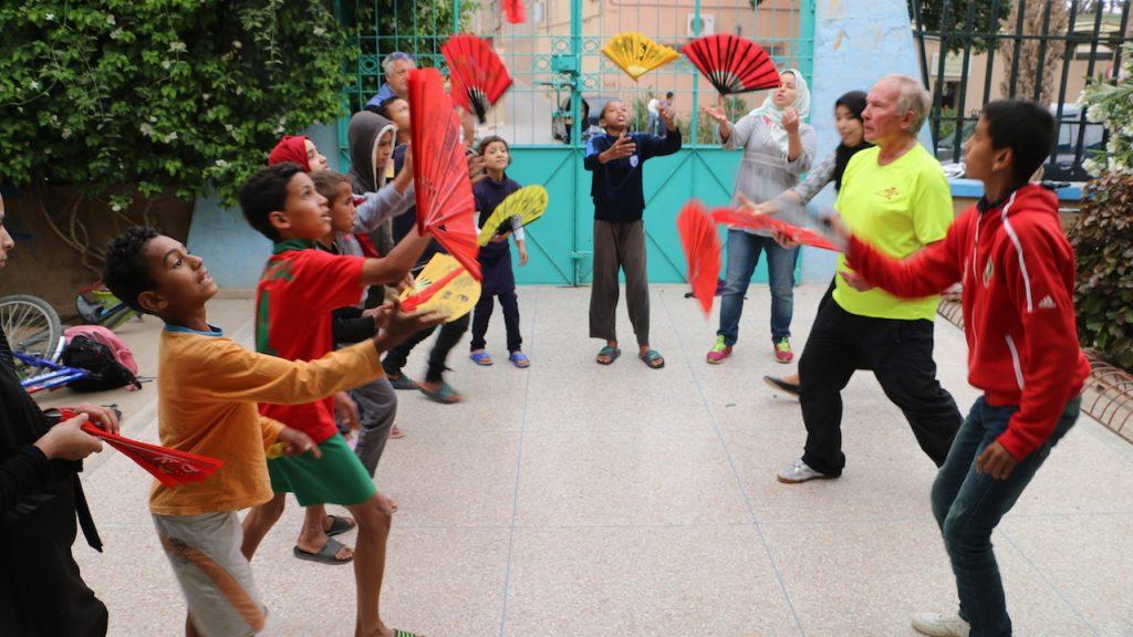 Marokko01 Straßenkinder